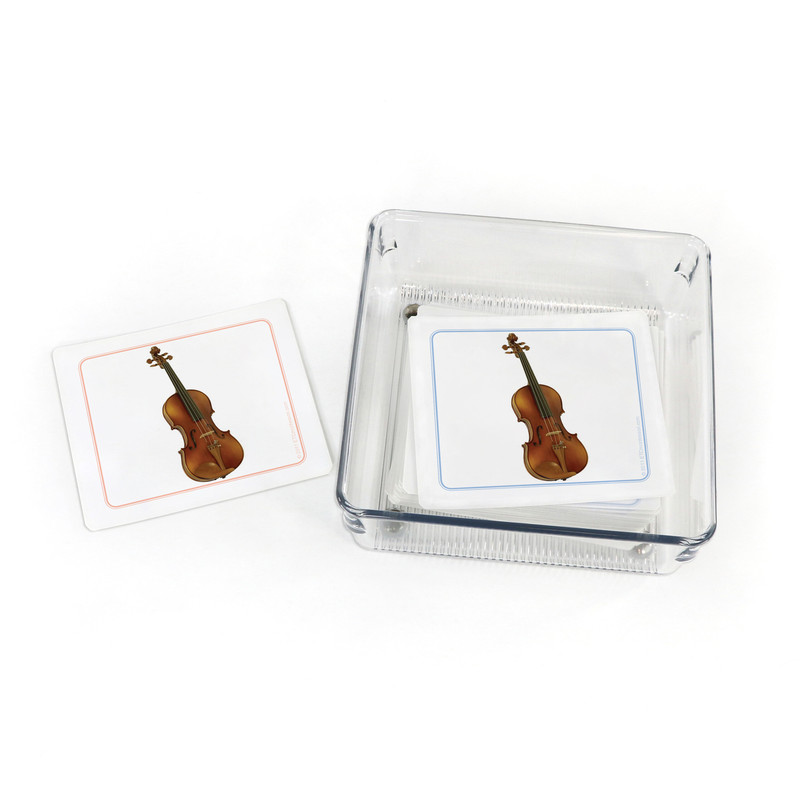 Musical Instruments - Matching Cards (EC-0720B) with container