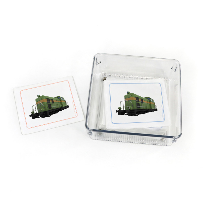 Transportation - Matching Cards (EC-0527B) with container