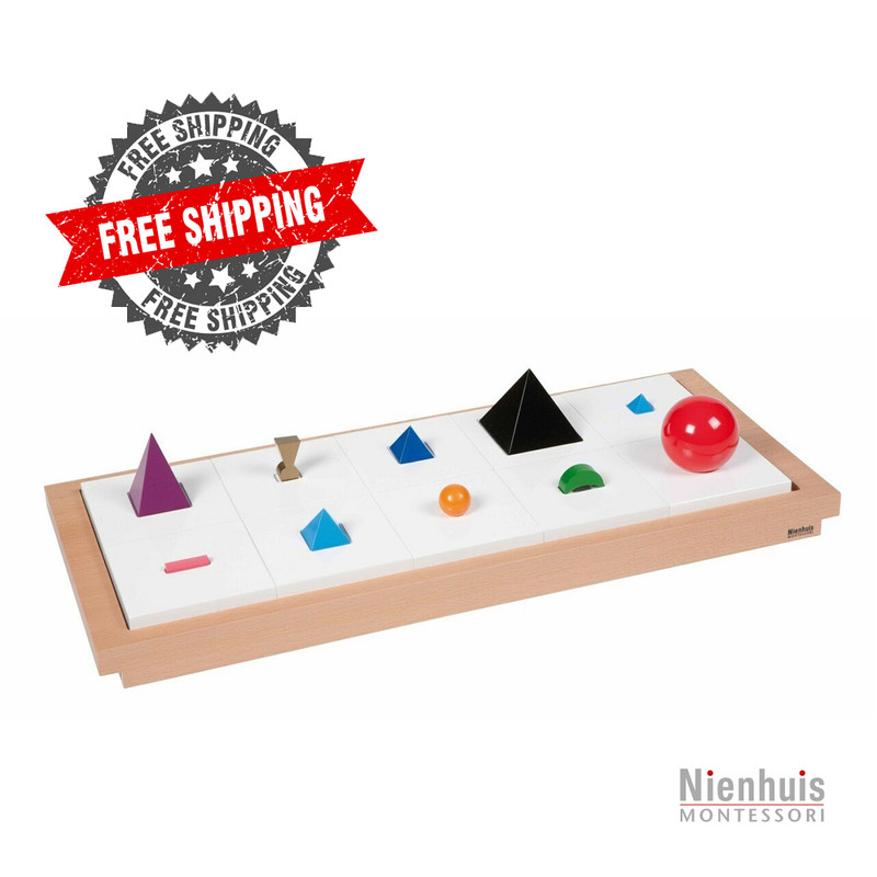 AMI approved materials by Nienhuis Montessori