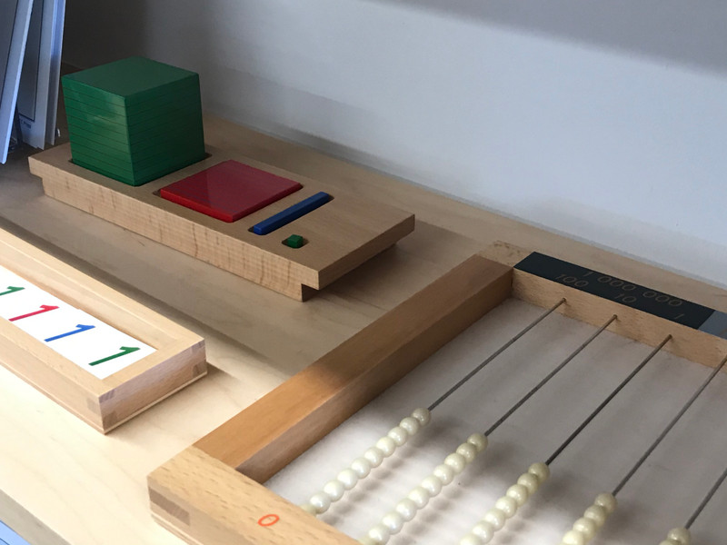 All classic Montessori hardwood materials are directly from Nienhuis Montessori