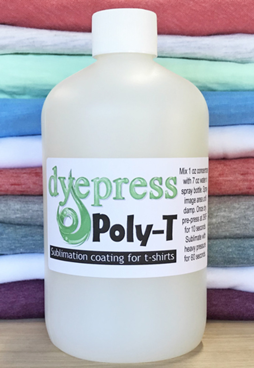 Poly T-Spray Sublimation Coating for 100% Cotton and Cotton Blends