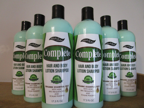 12 Complete Hair and Body Wash