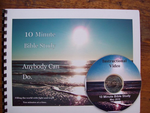 10 Minute Bible Study Flip Chart (With DVD Teaching Aid)