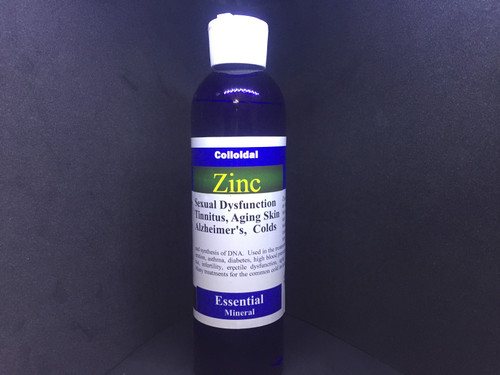 Zinc - colloidal super absorbent water soluable 8 oz.  $21.95