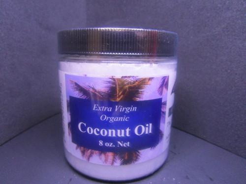 Extra Virgin Organic Coconut Oil 16 OZ