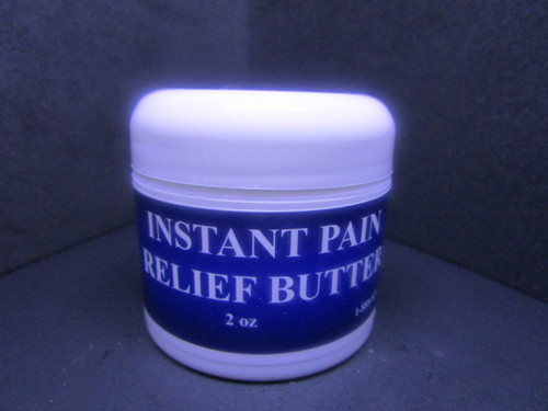 Instant Pain Relief Butter 2 oz