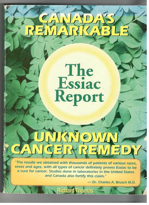 ESSIAC Report, Unkown Cancer Remedy (USED, Good Condition)