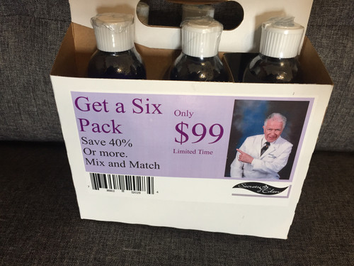 Colloidal Six Pack.  $99.00 You select mix.