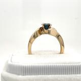 # 1 - Montana Sapphire H Ring