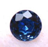 Montana Yogo Sapphires Round Brilliant Cut Cornflower Blue 2mm to 3mm