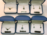 # 32 - Montana Sapphire & Diamond Bezel Set Ring 14K White Gold
