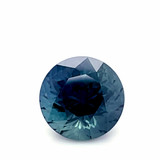 Montana Sapphire Large Round Brilliant Faceted Loose Stone