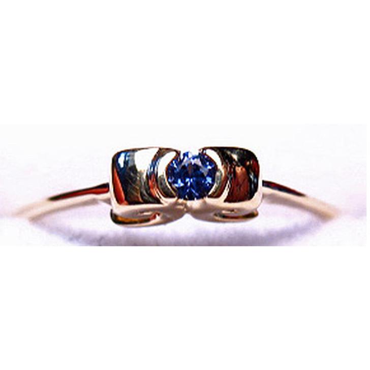 Montana Yogo Sapphire 2.5mm Ring