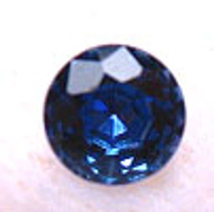 Montana Yogo Sapphires Round Brilliant Cut Cornflower Blue 2mm to 3mm