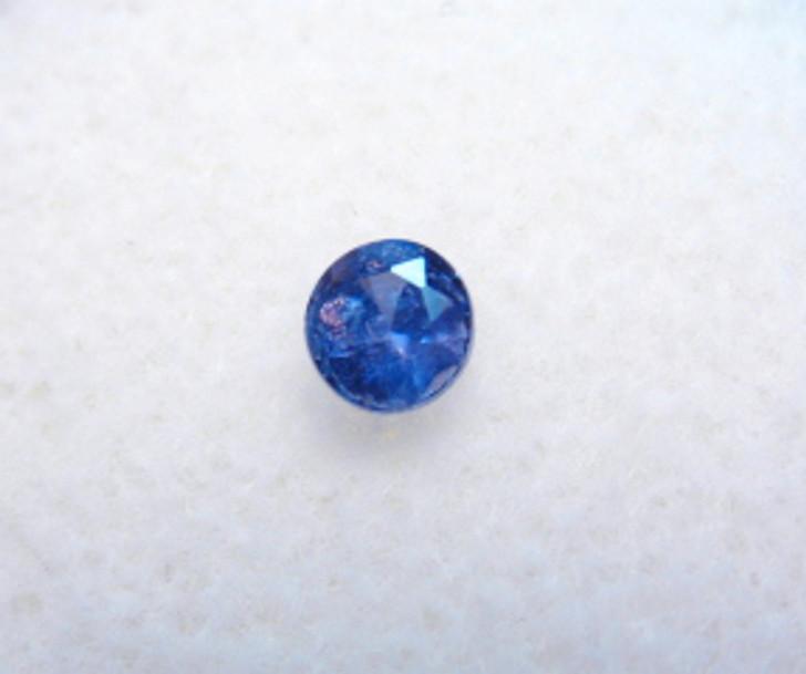 #29- Montana Yogo Sapphire Round .19 ct 3.32mm