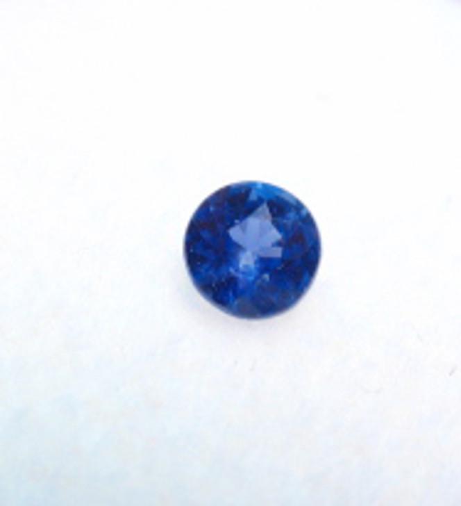 #30- Montana Yogo Sapphire Round .18 ct 3.29mm