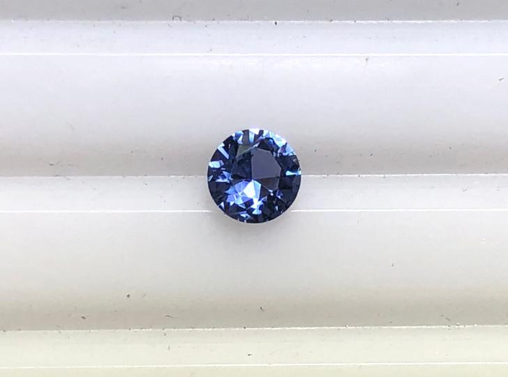 Montana Yogo Sapphire round .27ct 3.75mm