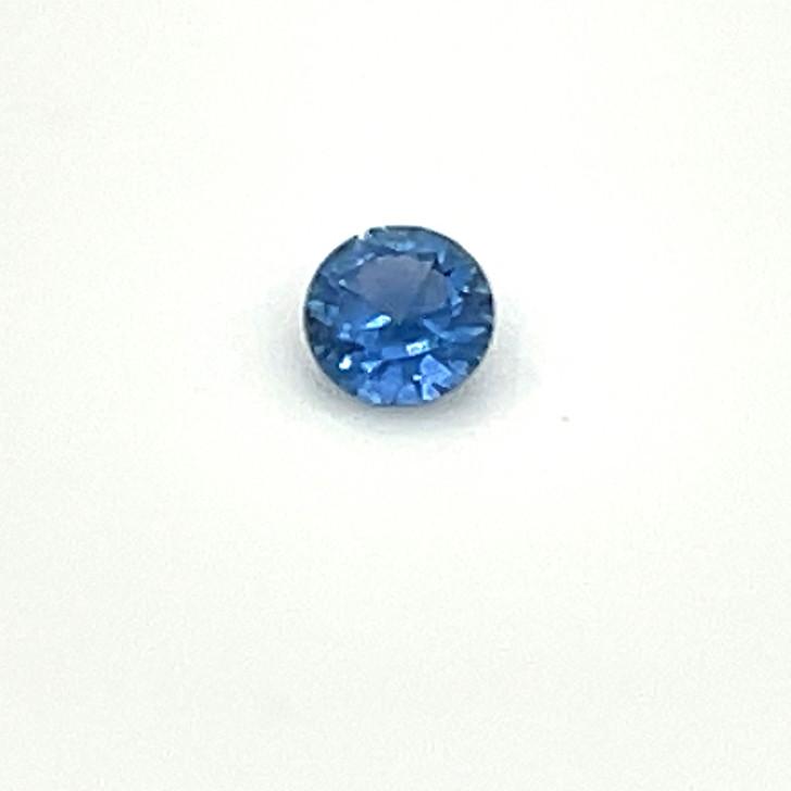 Montana Yogo Sapphire Round Loose Stone .34 ct 4.33mm