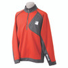 Benelli 1/4 Zip Performance Pullover Red Charcoal Medium 93302M