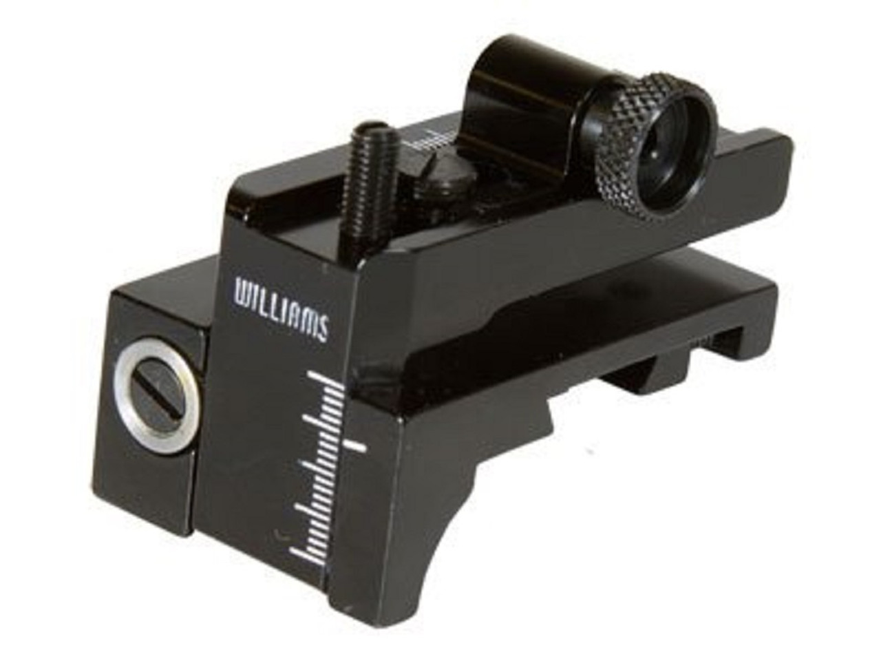 Williams 5D-AG Aperture Rear Sight Rimfire Dovetail Receivers, Black