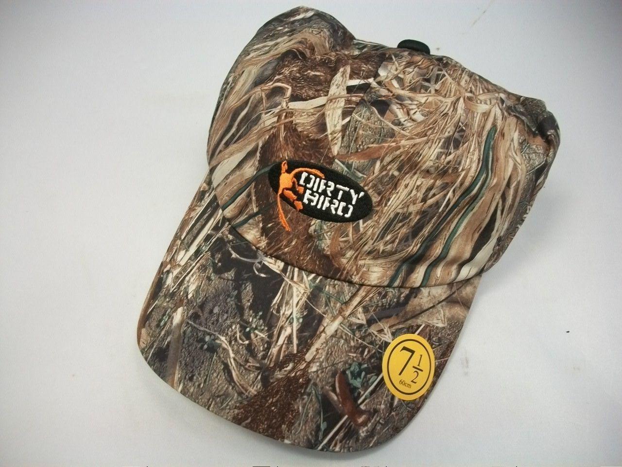 Factory Browning Dirty Bird Duck Back Mossy Oak Duck Blind Size 7 Cap Hat