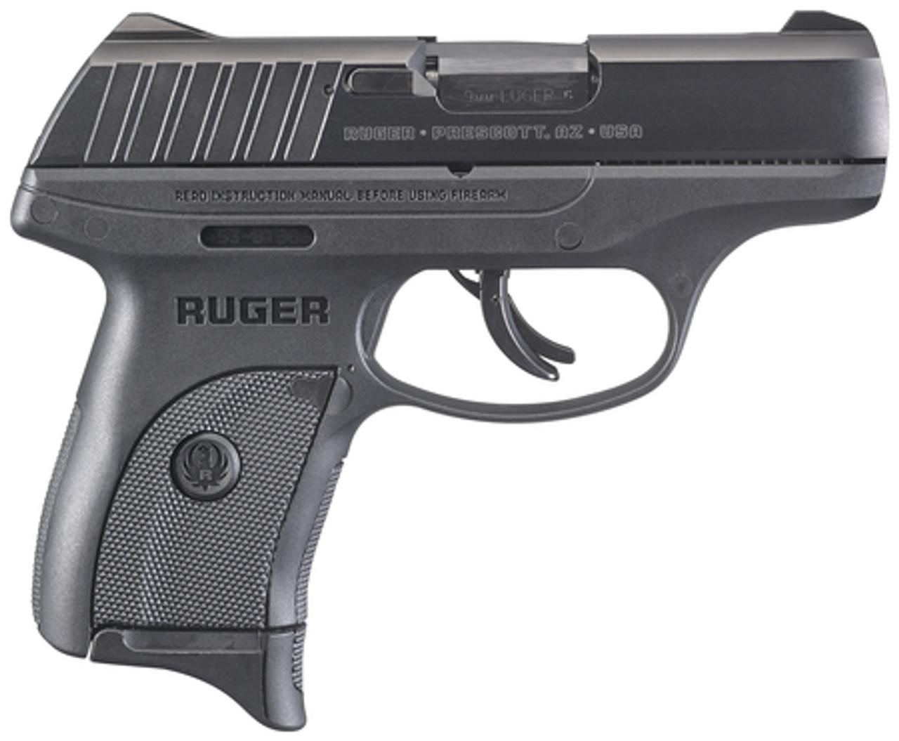 """Ruger EC9S 9 MM 3.12"""" BBL 03283 NIB 7+1 BLK 9MM"""