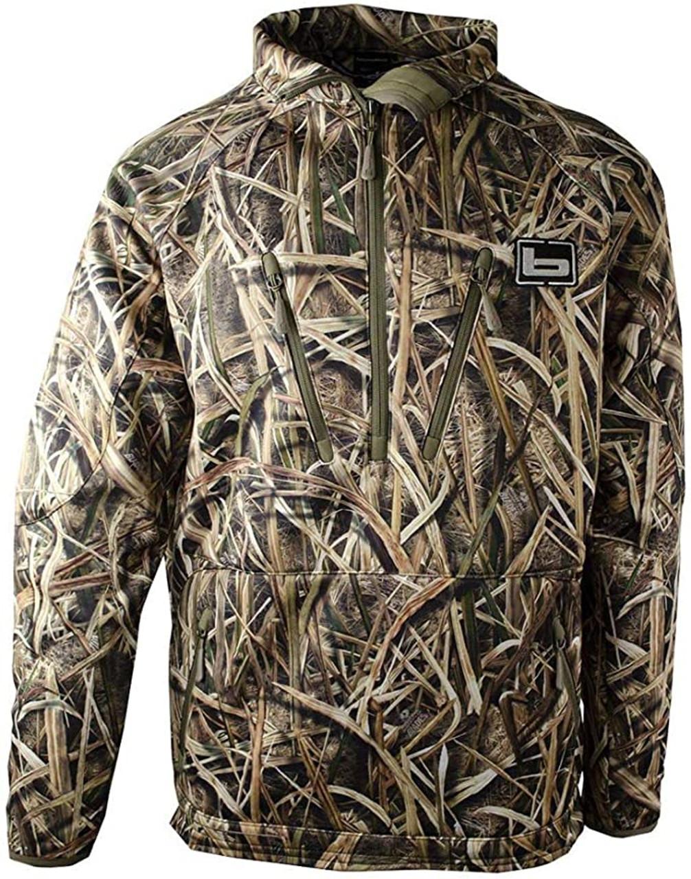 Banded Heavy Tec Fleece 1/2 Zip Pullover MAX 5 Camo 2XL