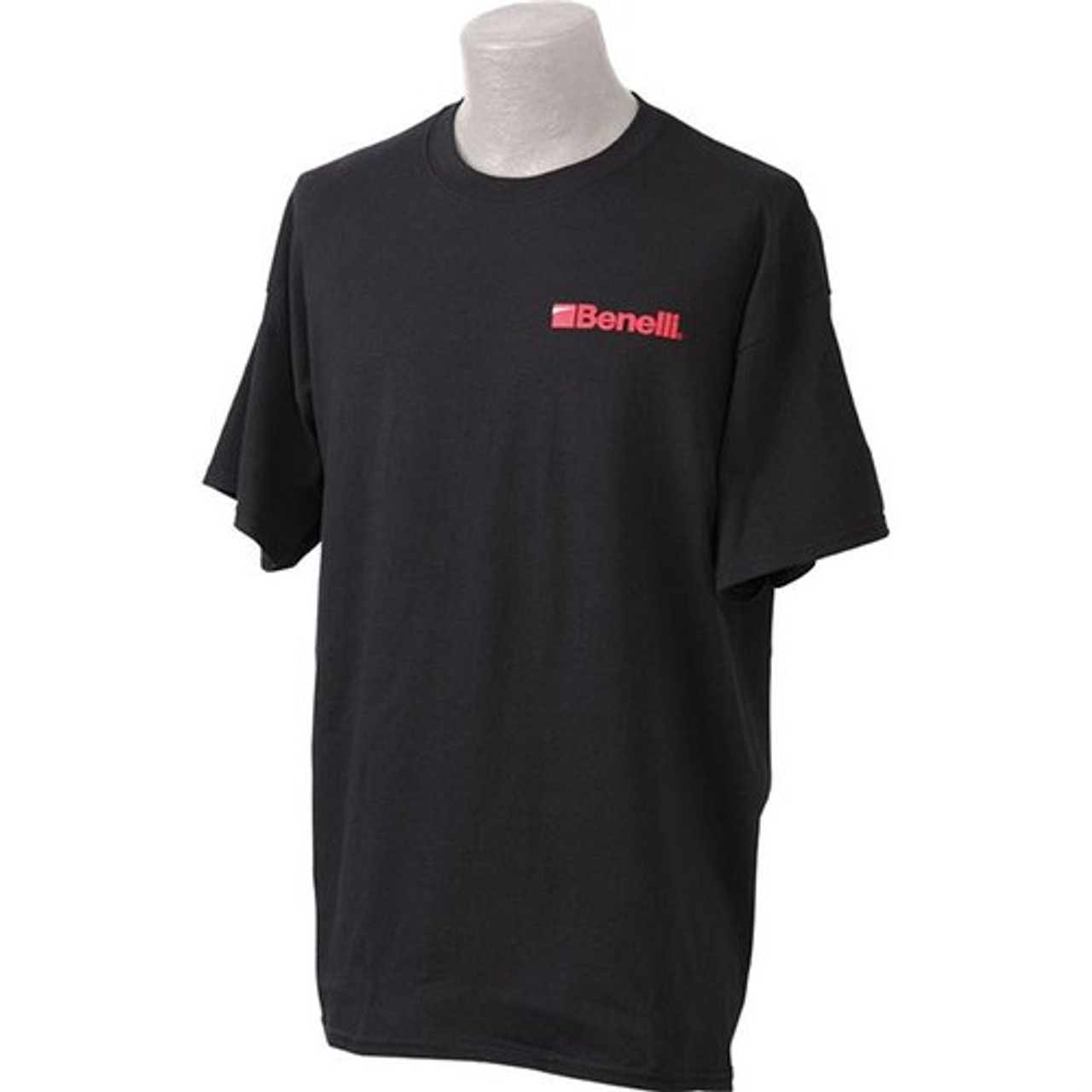 Benelli Short Sleeve Logo T Shirt Black Red Medium 93002M