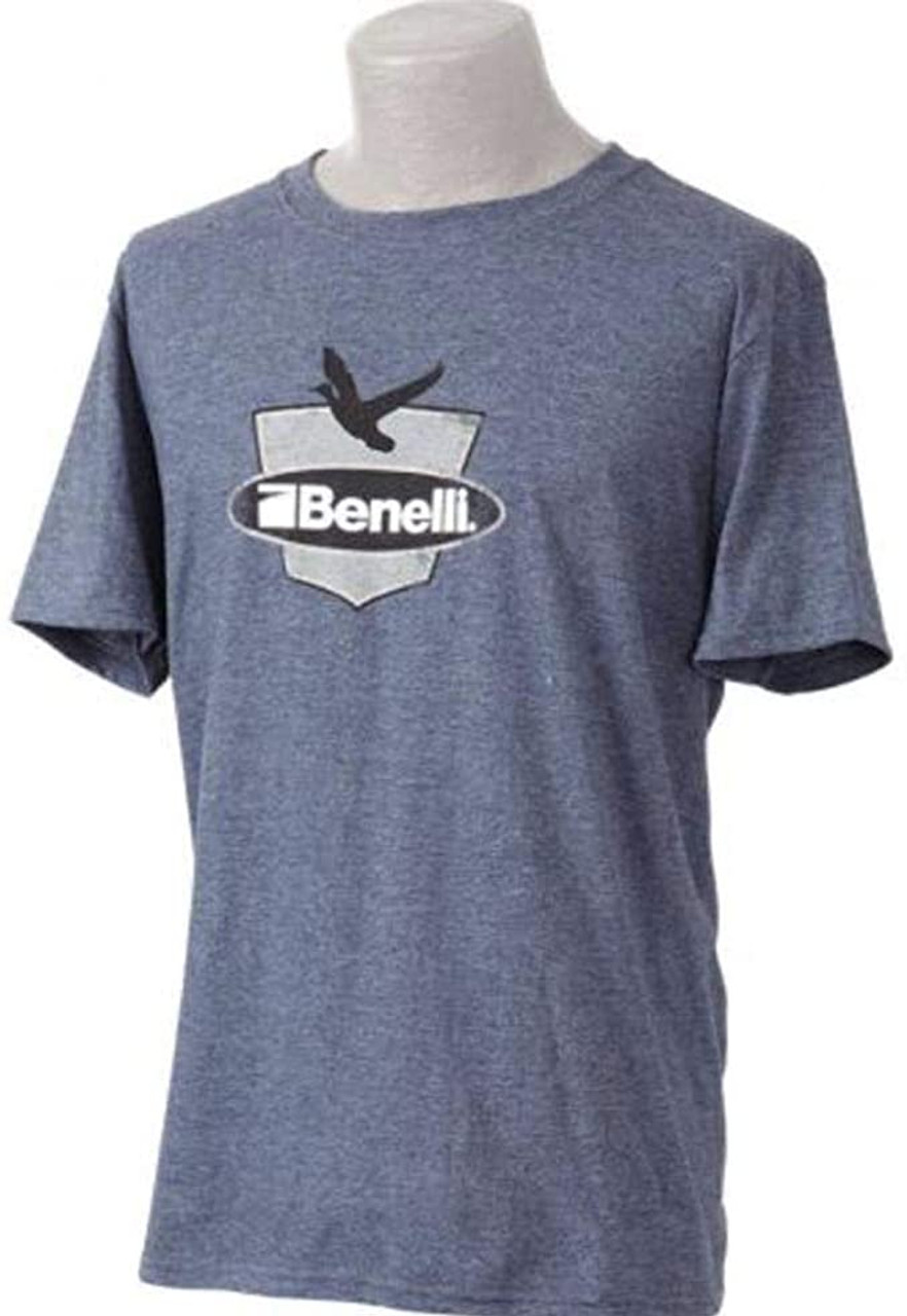 Benelli Duck Badge T Shirt Navy Large 93004L
