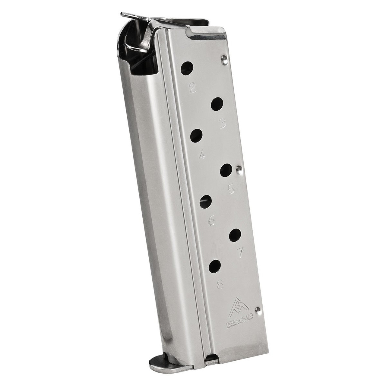 Factory Springfield Armory 1911 9MM 8 Round Magazine Mag Stainless PI0920