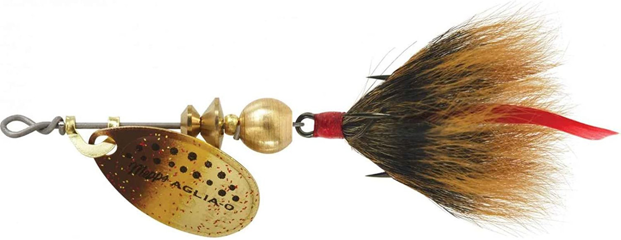 Mepps Dressed Treble 1/12 Ounce Size 0 Brown Trout Brown - B0ST BRT-BR