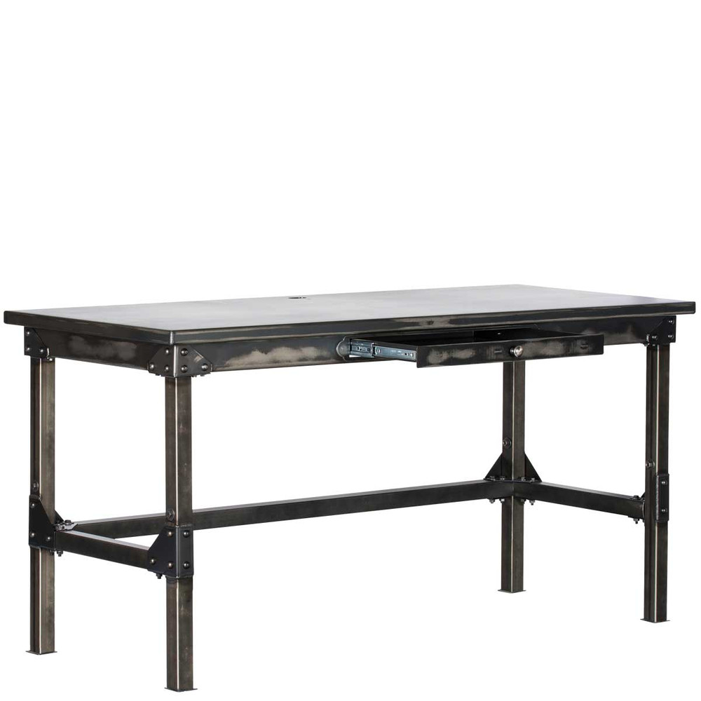"Ironworks Work Desk | 42""H x 72""W x 30""D"