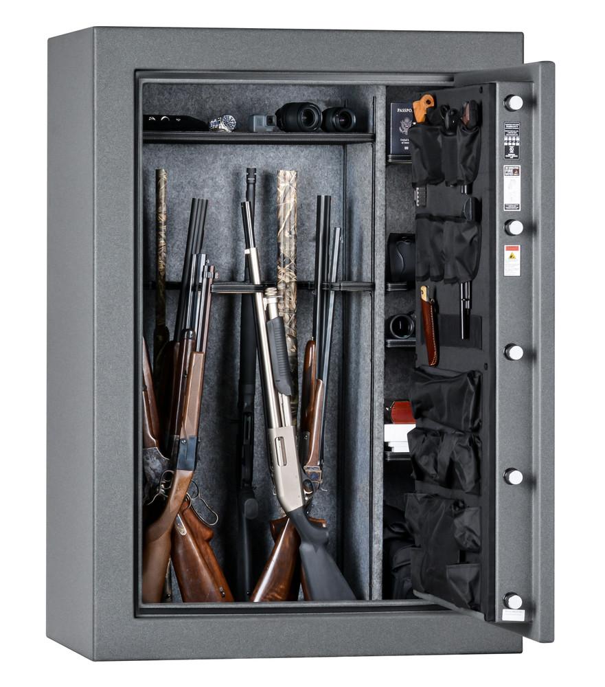 "Rhino Warthog RW6042X   60""H x 42""W x 27""D   54 Long Gun Safe   80 Min"