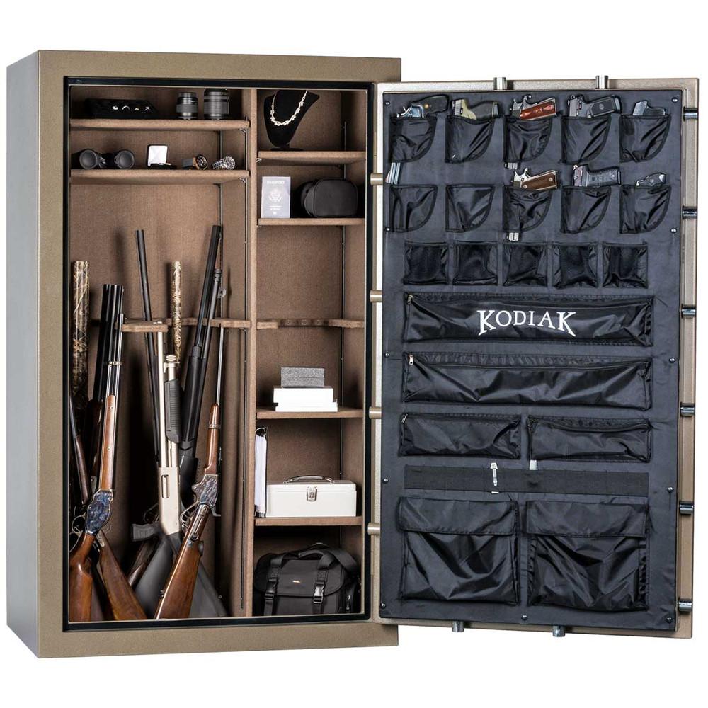 "Kodiak K7144EX | 71""H x 44""W x 26""D | 58 Long Gun | 60 Min"