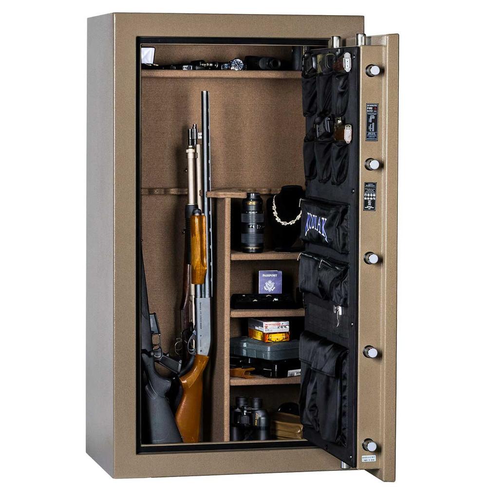"Kodiak K5933EX | 59""H x 33""W x 21""D | 28 Long Gun | 60 Min"