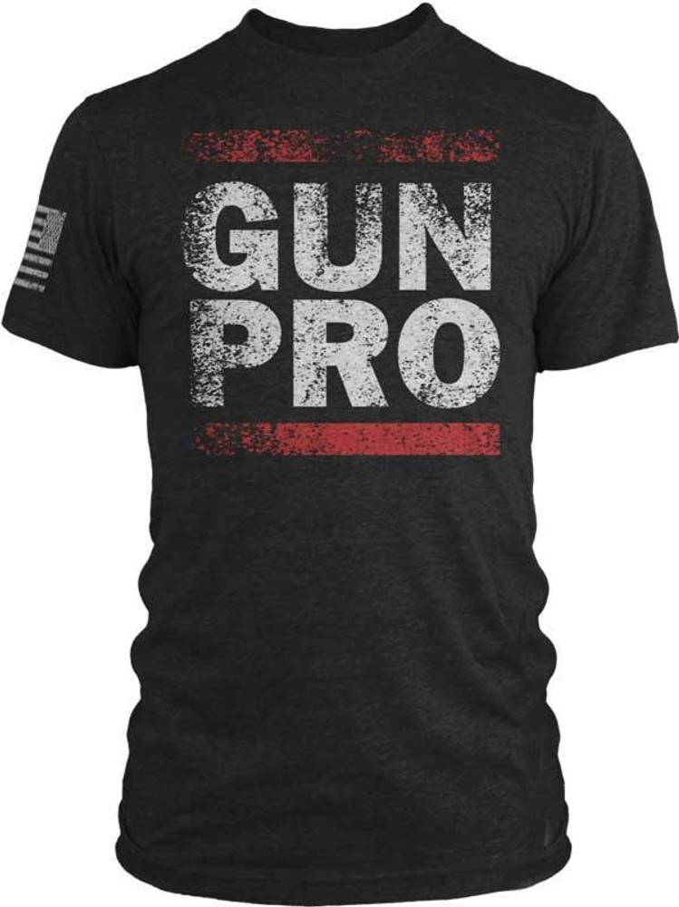 If you are Pro Gun, than you need this shirt. Pro or not, let the world know you support your second amendment rights with our Gun Pro tee.  Make the statement that you're an American that shouldn't be messed with. Whether you are at the range, or walking amongst the snowflakes that are just waiting to be microagressed.   Trigger someone with our vintage