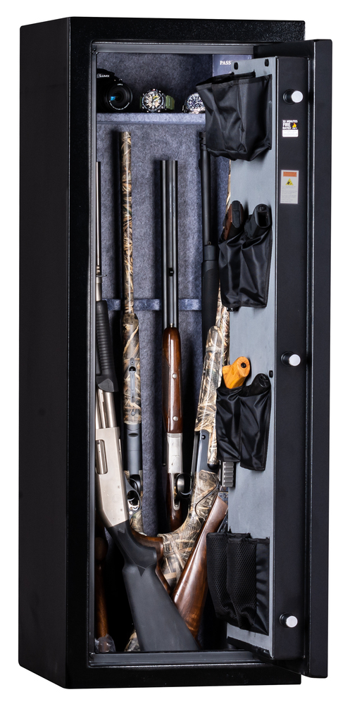 "Kodiak KB5520ECS | 55""H x 20""W x 20""D | 18 Long Gun Safe | 30 Min"