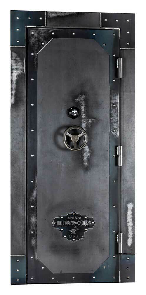 Ironworks Out-Swing Vault Door | IWVD8030 - 80X30X8.25