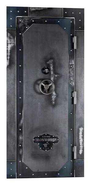 out-swing vault door front