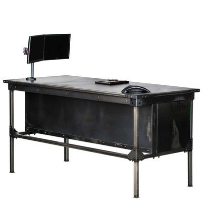 Ironworks Executive Desk- 42""