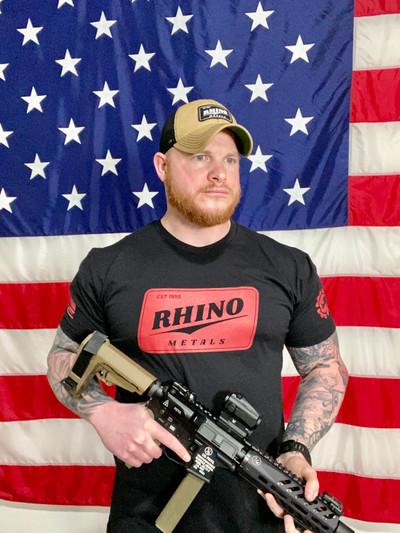 Rhino Metals Landerson T-Shirt / Black/Red