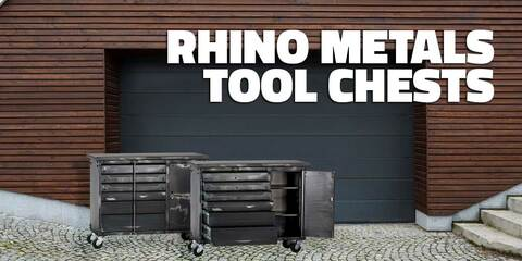 Rhino Metals Tool Chests