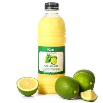 Kudo 100% Pure Lime Juice 冷凍新鮮萊姆汁