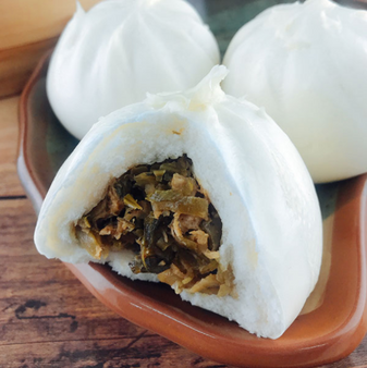 Pickled Cabbage Steamed Buns (8pcs) 酸菜包