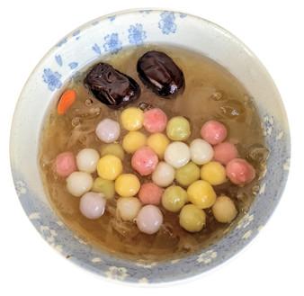 Five Flavor Small Sticky Rice Balls 五行湯圓