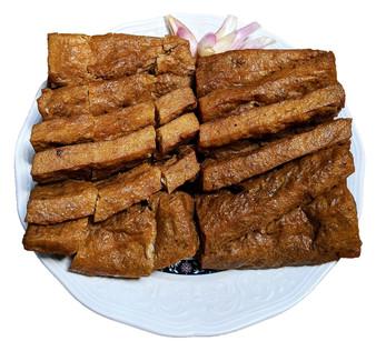 Kudo Fried Tofu (Scored) 富源成非基改蘭花干