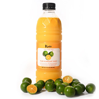 Kudo 100% Pure Kumquat Juice 冷凍新鮮金桔汁