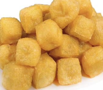 Fried Tofu Puff Small 富源成非基改小油豆腐泡