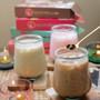 Kudo Frozen Instant Boba Pack - Black Tea O's Bubble Tea Tapioca