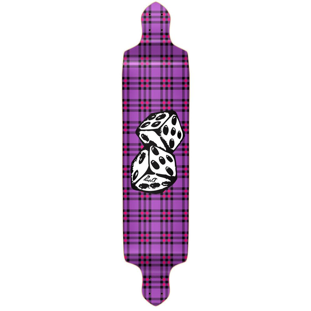Drop Down Dice Longboard Deck